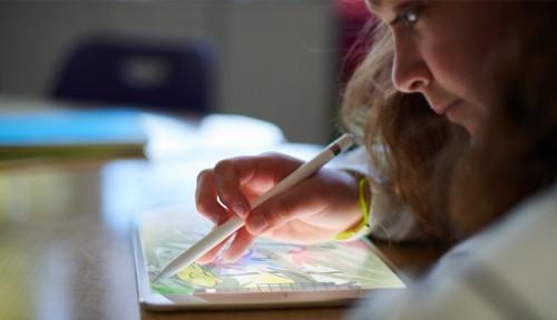 Apple iPad Arbeit macht immer Spaß