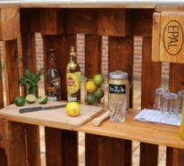 Eine coole Bar aus Paletten selber bauen