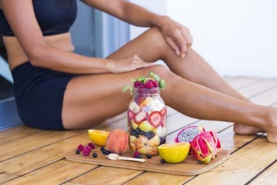 Gesundes Frühstück Fitness Smoothies nach dem Training ideal für Regeneration des Körpers
