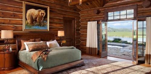 Luxusurlaub USA Wyoming rustikaler Komfort