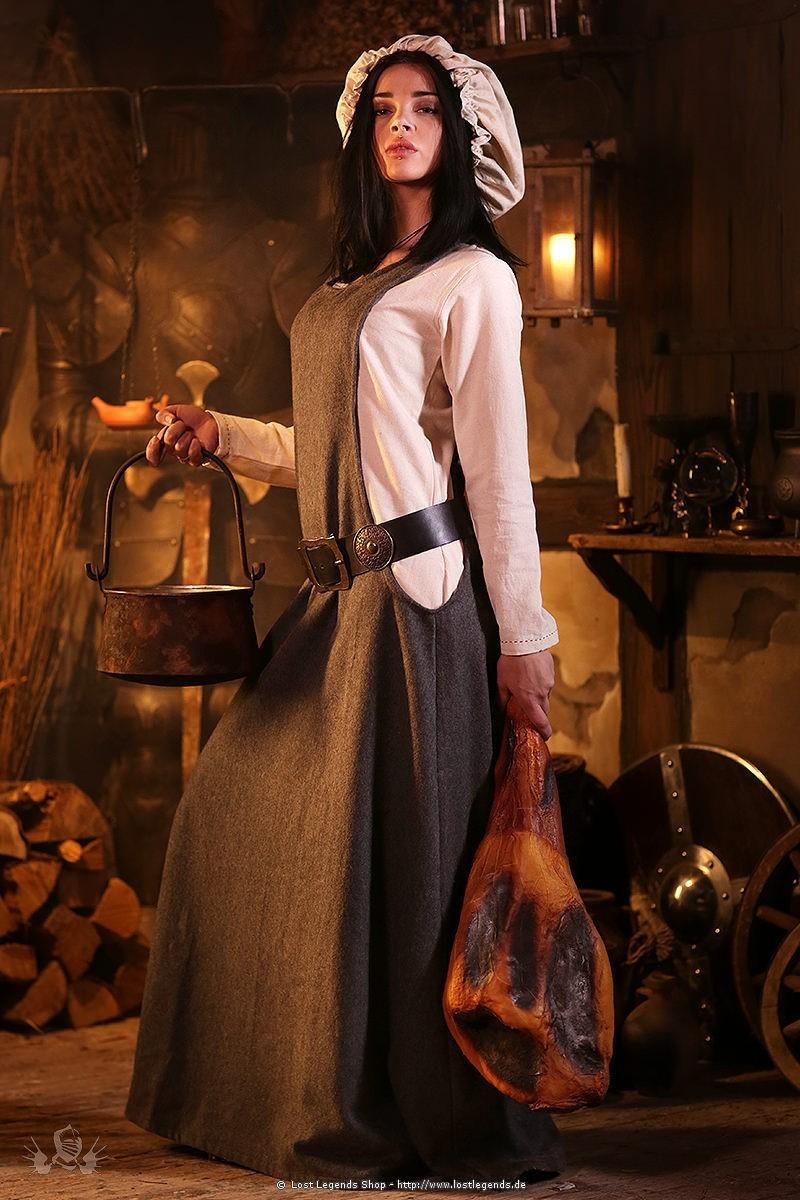 Mittelalter Kleidung Frau aus der Küche