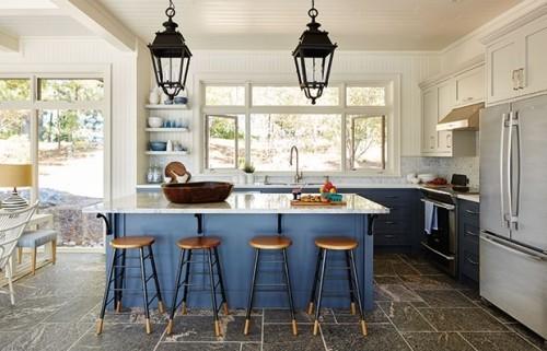 Moderne Küche Kücheninsel