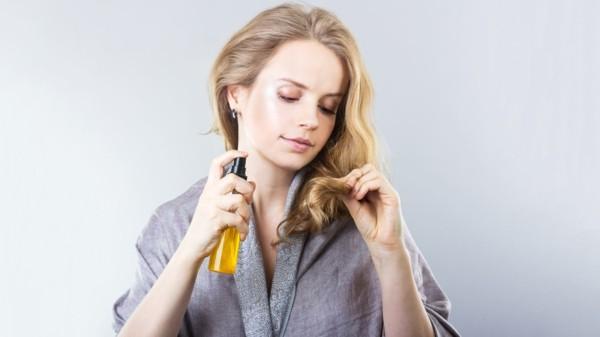 Natürliches Sonnenöl selber machen haarspitzen