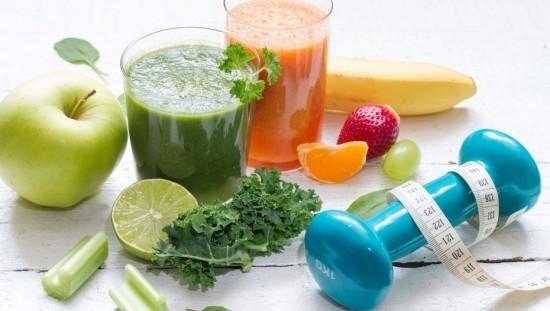 Obst Gemüse Saft Fitness Smoothies Handel gesundes Leben neuer Lifestyle