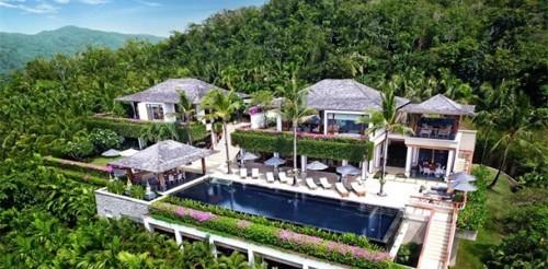 Private Villen erstklassige Einrichtung Luxusurlaub Insel Phuket Thailand