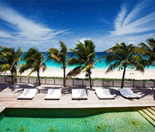 Saint Bartholomäus Insel in der Karibik Luxusurlaub