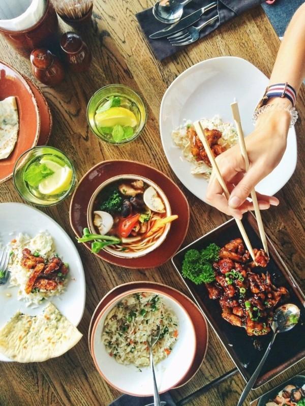 bauchfett loswerden sushi essen