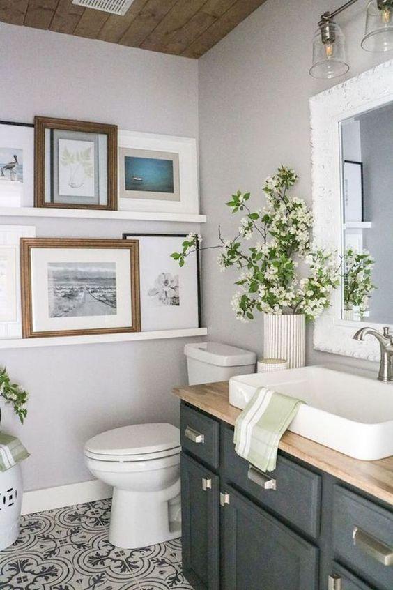 Einfache und kreative Bad-Deko - 30 Ideen fürs moderne ...