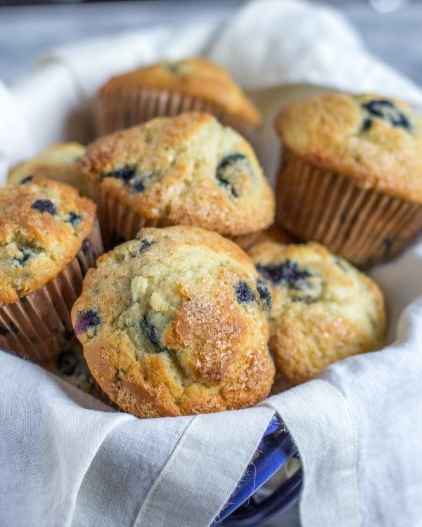 blaubeeren marmor muffins