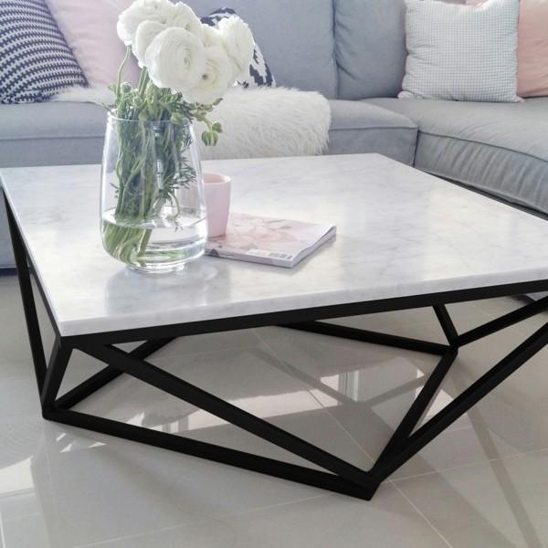 designer marmor couchtisch wohnzimmer