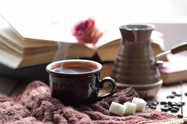 expressives schreiben türkischen kaffee trinken