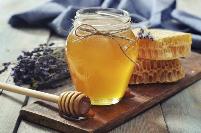 gesundes leben tolle idee mit honig