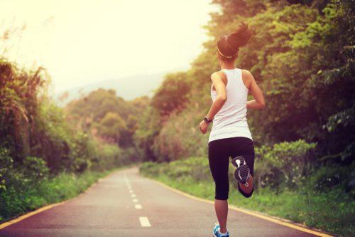 jogging frau metabolismus ankurbeln
