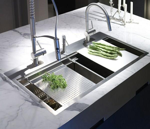 küchenspüle für kleine eckküche