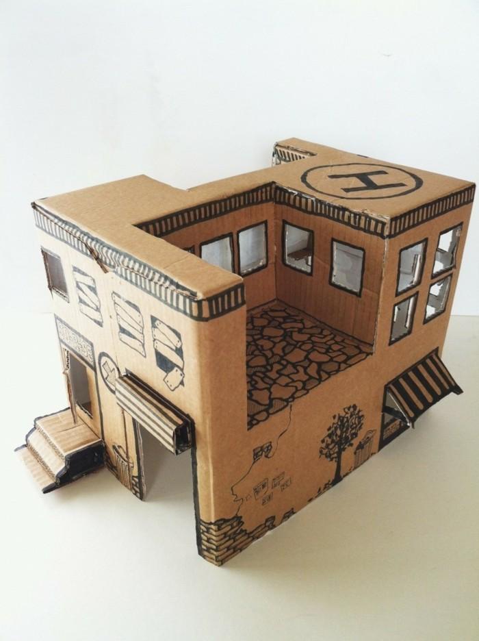 kinderspiel idee kartons