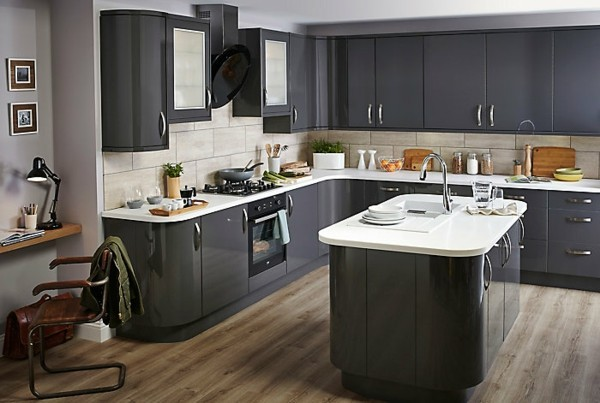 kleine eckküche einrichtungsideen