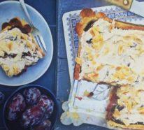 3 schnelle Pflaumenkuchen, frisch aus dem Ofen!
