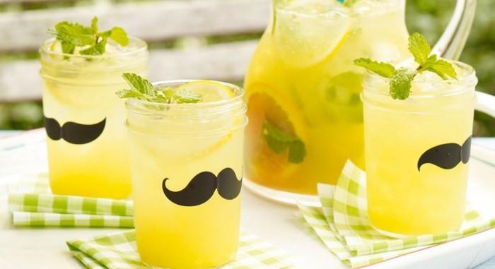 limonade ideen lustige deko