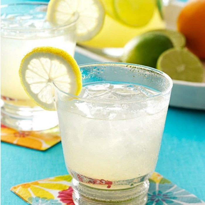 limonade ideen schön und frisch