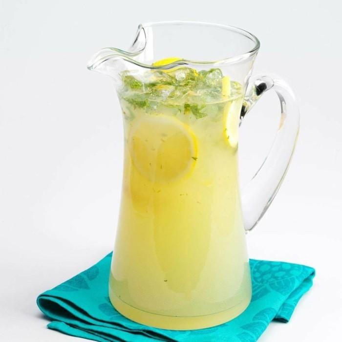limonade ideen schöne frische kanne
