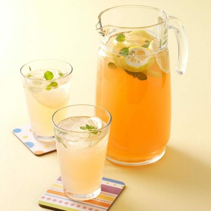 limonade ideen tolle deko