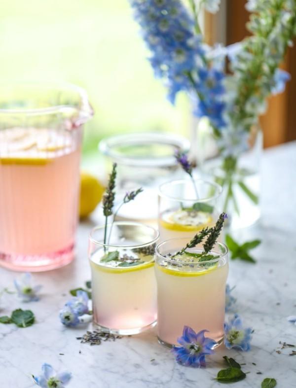 limonade und lavendelsirup zum selbermachen