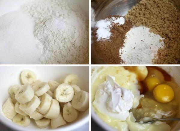 marmor muffins mit bananen