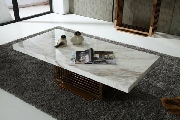 moderner marmor couchtisch