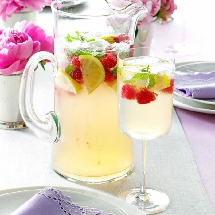 tolle frische idee limonade ideen