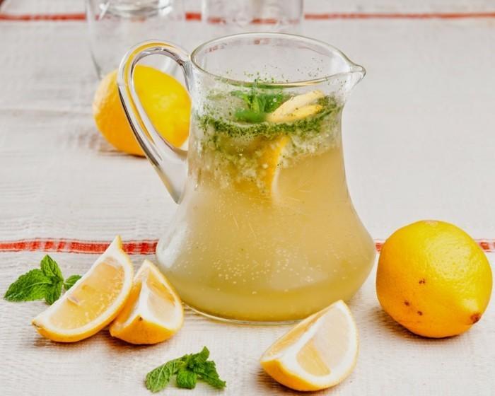 tolle zitronen limonade ideen