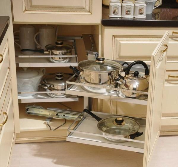 unterschränke clever gestalten kleine eckküche