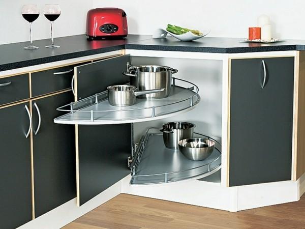 unterschrank ideen für kleine eckküche