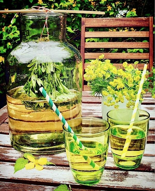 waldmeister rezepte limonade selber machen bowle