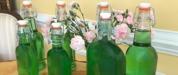 waldmeister rezepte limonade selber machen sirup hausgemacht