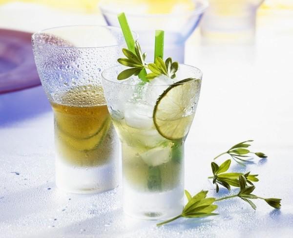 waldmeister rezepte limonade selber machen waldmeister deko
