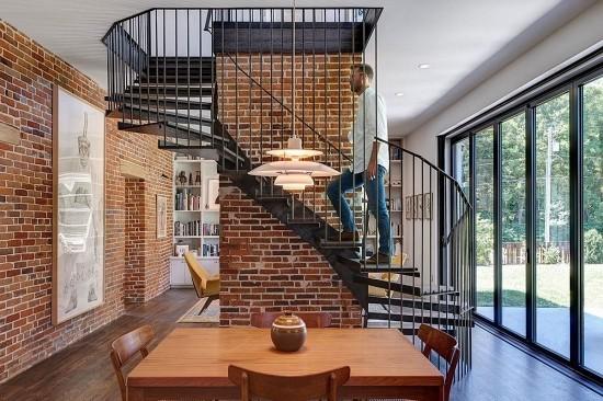 wendeltreppe metall schwebende stufen