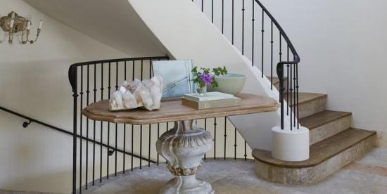 wendeltreppe tolle stufen und metall geländer
