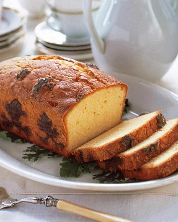zitronengeranie bluete cake