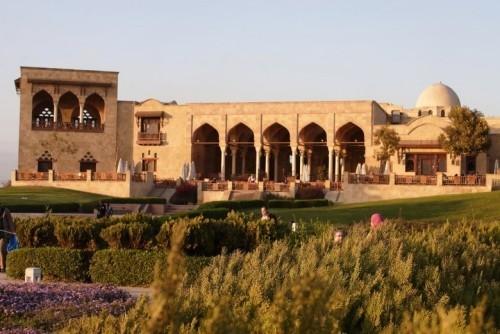 Al-Azhar Park Kairo schönste Orte für Picknick Freunde und Touristen