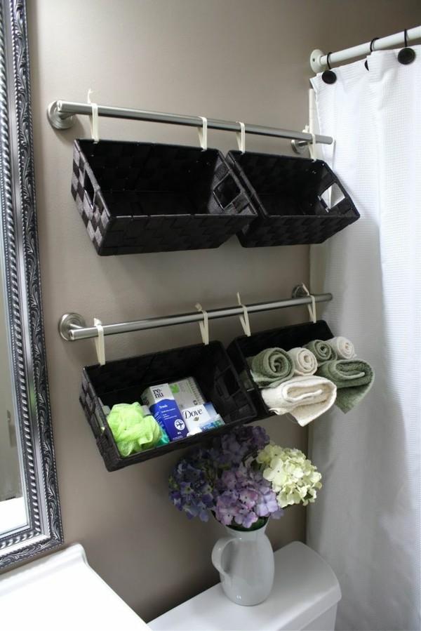 Badezimmer Ideen für kleine Bäder dachschraege vertikaler raum