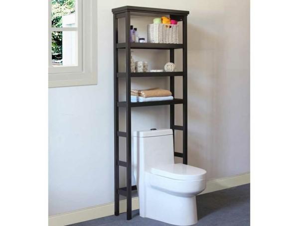 Badezimmer Ideen für kleine Bäder dachschraege wandregal