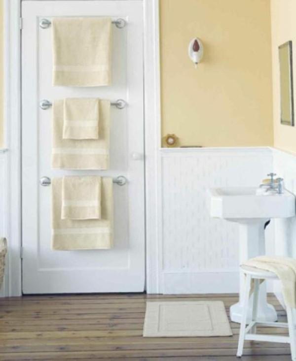 Badezimmer Ideen für kleine Bäder tuer
