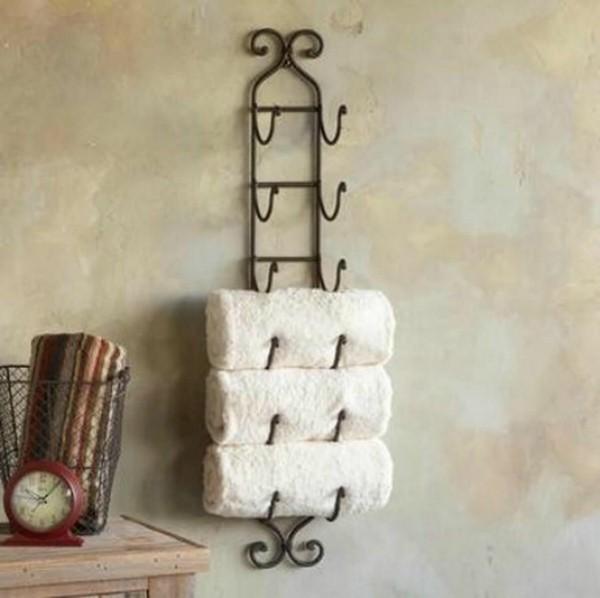 Badezimmer Ideen für kleine Bäder waschmaschine handtuecher