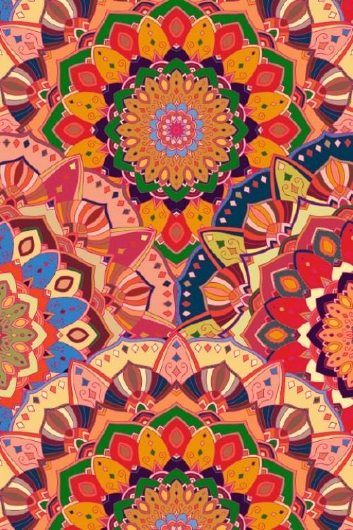 Farbenfrohe Mandala-Muster haben ihr großes Comeback