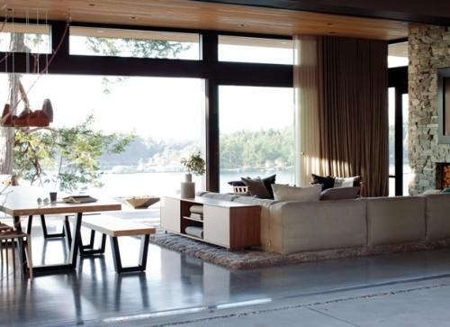Beton In Interieur : Bringen sie eine frische brise in ihr interieur fresh ideen für