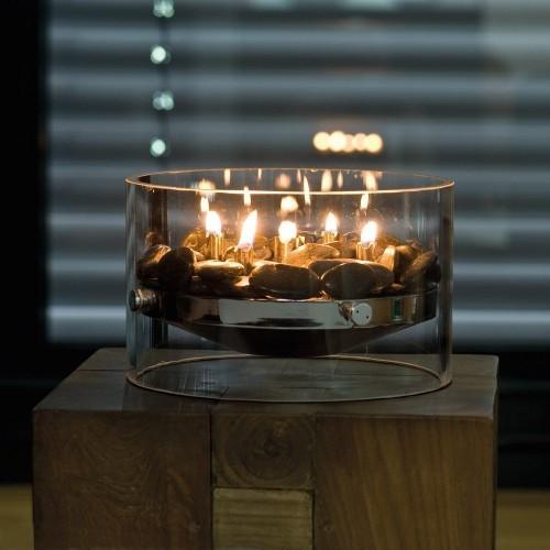 Geburtstagsgeschenke für Mutti moderner Tischkamin perfektes Geschenk