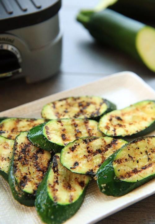 Gegrillte Zucchini vegetarische Grillrezepte