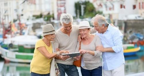 Goldene Regeln für gesundes langes Leben zusammen mit dem geliebten Menschen Reise die Welt erkundigen