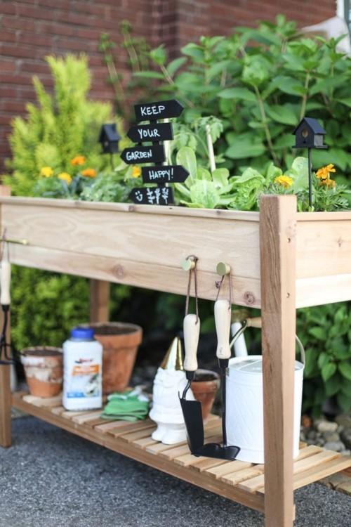 Hochbeete selber bauen clever nutzen im kleinen Garten