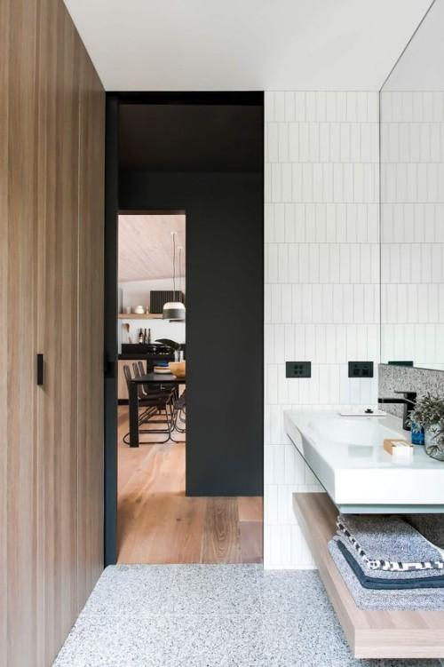 holz im bad bringt opulenz und w rme mit verlangt aber pflege fresh ideen f r das interieur. Black Bedroom Furniture Sets. Home Design Ideas
